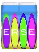 Surfs Up - Jersey Duvet Cover