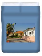 Surfside Neighborhood In Miami Beach Duvet Cover