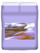 Surging Currents Duvet Cover