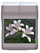 Surprise Lilies Duvet Cover