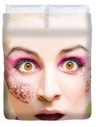 Surprised Face Duvet Cover