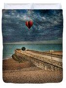 Surreal Beach Duvet Cover