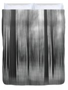 Surreal Forest Abstract. Duvet Cover