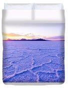 Surreal Salt Duvet Cover by Chad Dutson