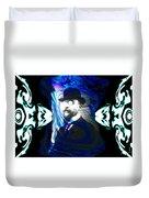 Surreal Satie, The Velvet Gentlemen Duvet Cover