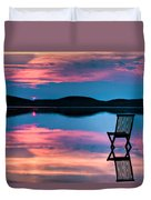 Surreal Sunset Duvet Cover by Gert Lavsen