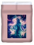 Surrounded By An Aura Of Love Duvet Cover