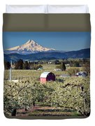 Surrounded By Beauty Duvet Cover