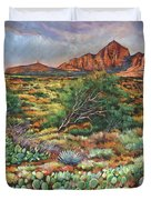 Surrounded By Sedona Duvet Cover