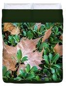 Surrounded Leaf Duvet Cover
