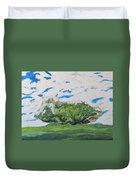 Surrounded With Clouds Duvet Cover