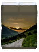 Surselva Valley Duvet Cover