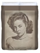 Susan Hayward, Actress Duvet Cover