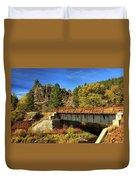 Susan River Bridge On The Bizz Duvet Cover