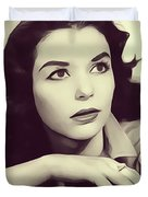 Susan Strasberg, Vintage Actress Duvet Cover