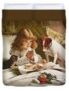 Suspense Duvet Cover by Charles Burton