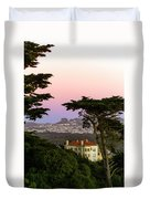 Sutro Heights Park View Duvet Cover