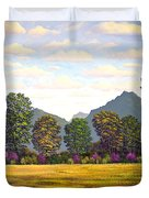 Sutter Buttes In Springtime Duvet Cover