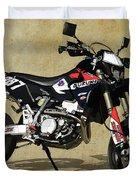 Suzuki Race Motorcycle. 387. Duvet Cover