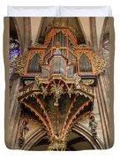 Swallows Nest Grand Organ Duvet Cover