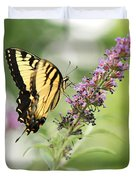 Swallowtail Stance Duvet Cover