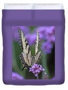 Swallowtail Staredown Duvet Cover