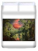 Swamp 1 Duvet Cover