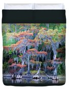 Swamp Dance Duvet Cover