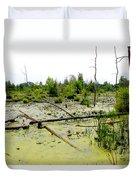 Swamp Habitat Duvet Cover