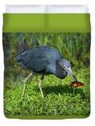 Swamp Hunter Duvet Cover