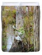 Swamp Monster Duvet Cover