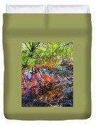 Swamp Pallet Duvet Cover
