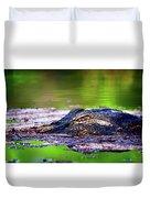 Swamp Patrol Duvet Cover