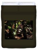 Swamp Raccoon Duvet Cover