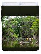 Swamp Stroll Duvet Cover