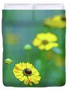 Swamp Sunflower Duvet Cover