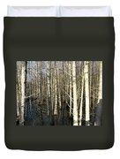 Swamp Trees Duvet Cover
