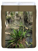 Swamp Vegetation Duvet Cover