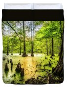 Swampland Dreams Duvet Cover