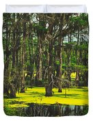 Swampy Beauty Duvet Cover