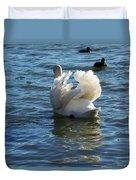 Swan 001 Duvet Cover