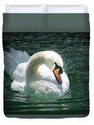 Swan Bow Duvet Cover