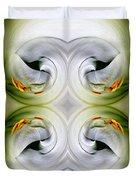 Swan Dancing Duvet Cover