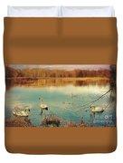 Swan Lake Duvet Cover