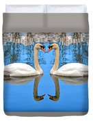 Swan Princess Duvet Cover