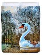 Swan Song Duvet Cover