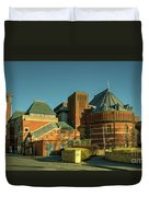 Swan Theatre Of Stratford  Duvet Cover