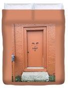 Swann Door Duvet Cover