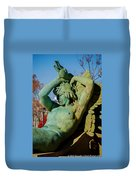 Swann Memorial Fountain Duvet Cover