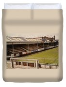 Swansea - Vetch Field - North Bank 2 - 1970s Duvet Cover